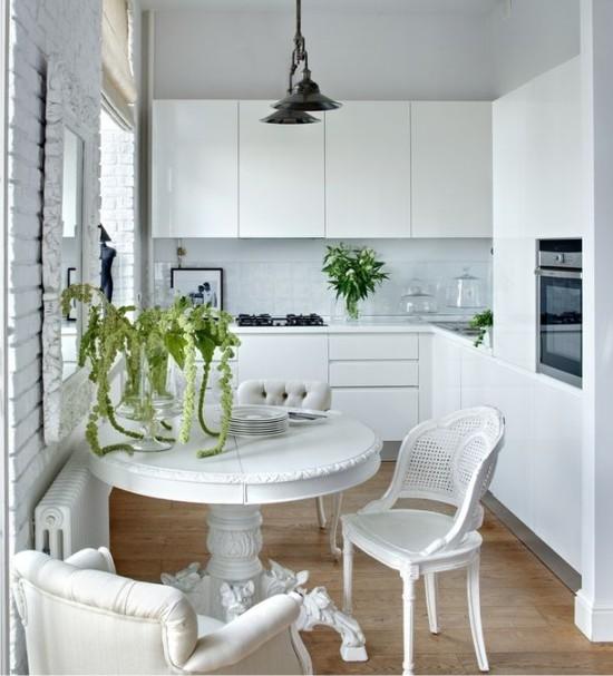 Дизайн маленькой кухни - 16 идей для планировки